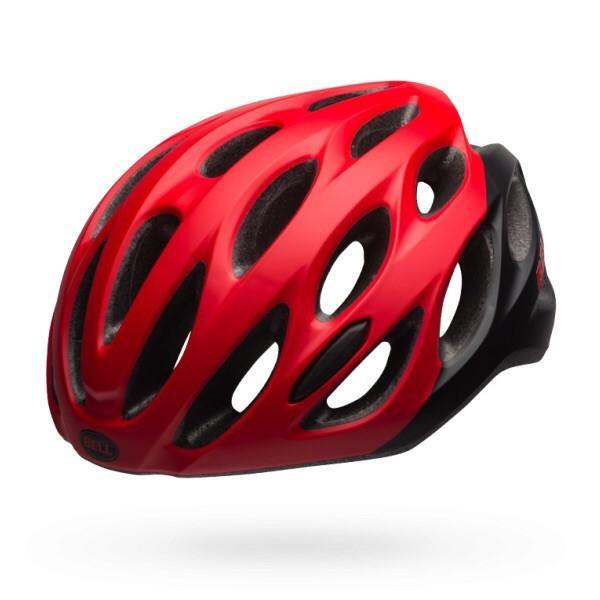 Bell Draft Helmet - Matte Red/Black