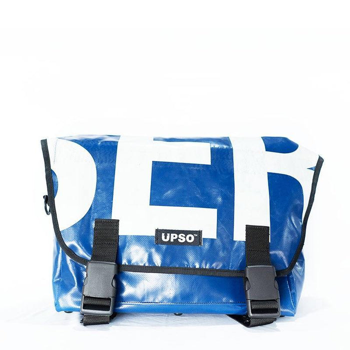 UPSO Brompton Ferrybridge Folder Bag - Blue/White