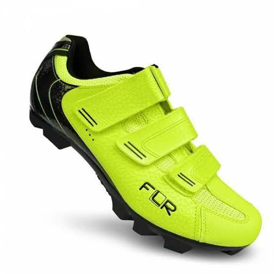 FLR F-55 III MTB Shoes - Neon Yellow