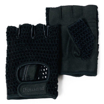 Thousand Courier Gloves - Stealth Black - SpinWarriors
