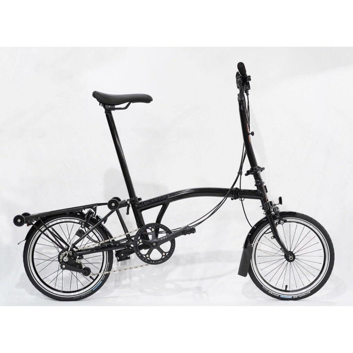 Brompton H6R 2019 Black Edition - Gloss Black/Titanium