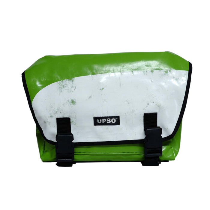 UPSO Brompton Ferrybridge Folder Bag - Green/Scratch White
