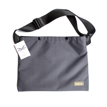 Restrap Musette Bag - Grey - SpinWarriors