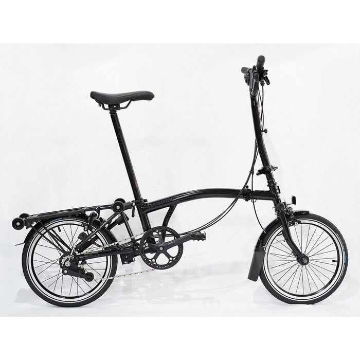 Brompton H6R 2019 Black Edition - Gloss Black