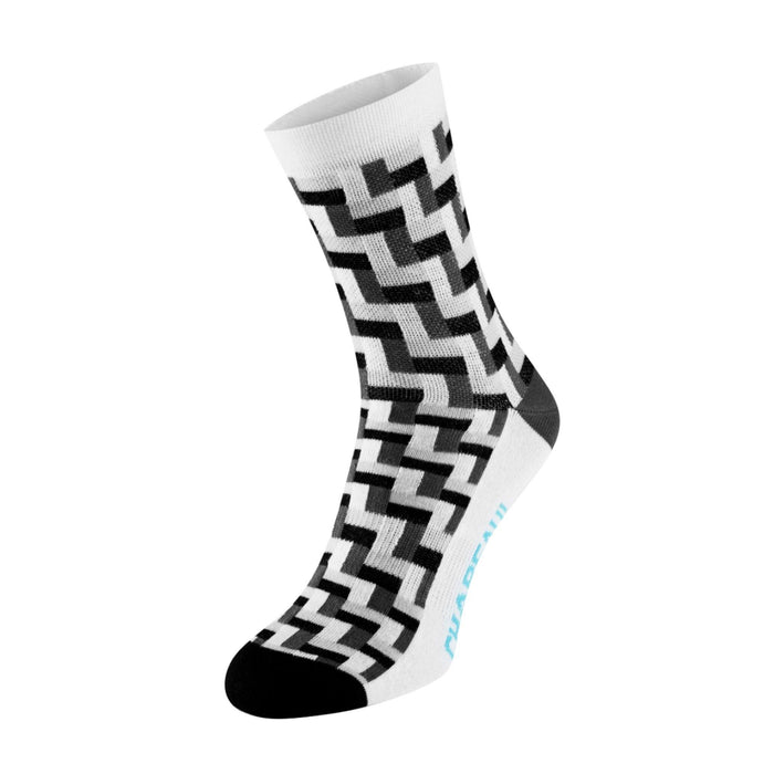Chapeau! Midweight Tall Sock - Black Tile