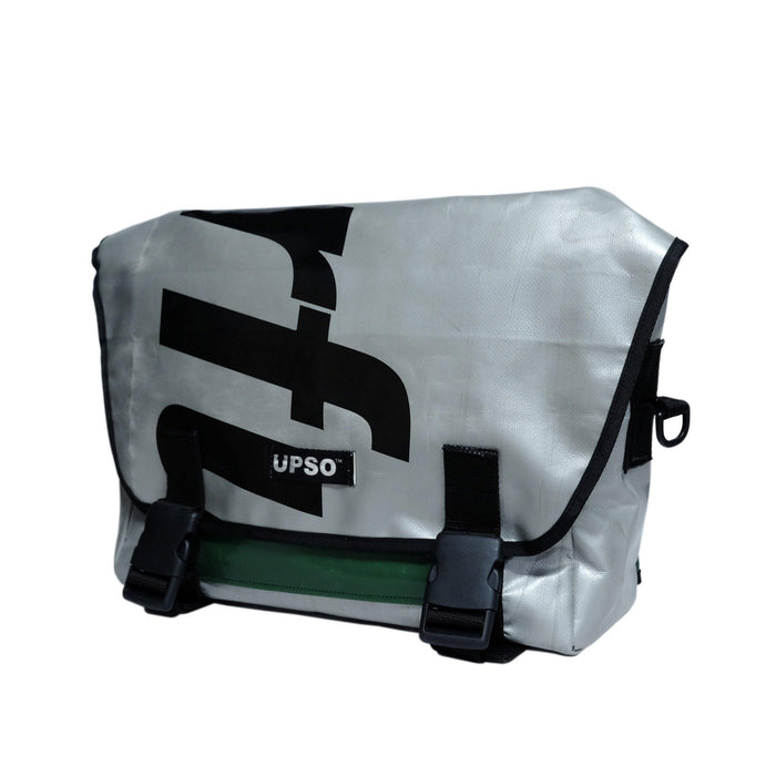 UPSO Brompton Ferrybridge Folder Bag - Grey/Black/Green