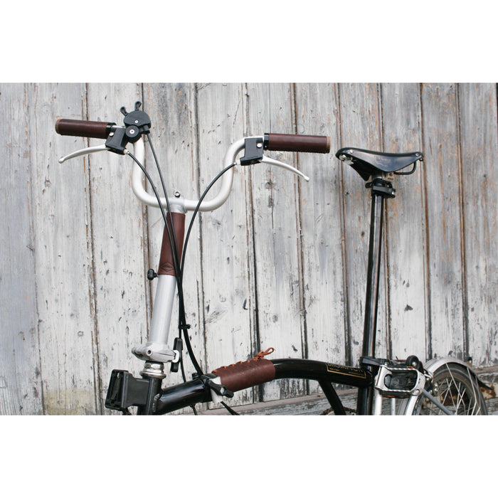 Souma Leather Brompton Frame & Stem Cover - Brown