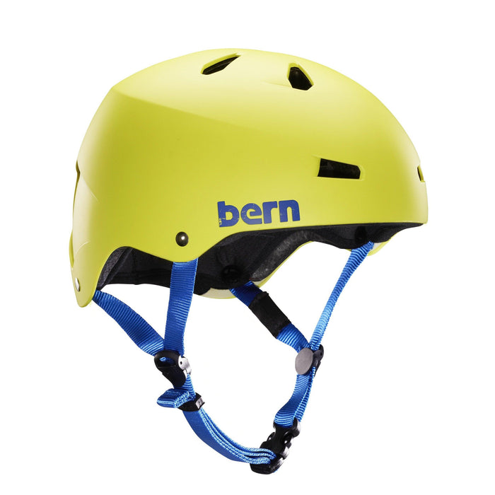 Bern Team Macon Helmet - Neon Yellow
