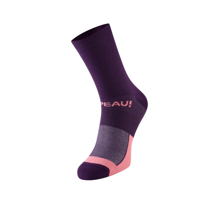 Chapeau! Lightweight The Marque Tall Sock - Purple Moon