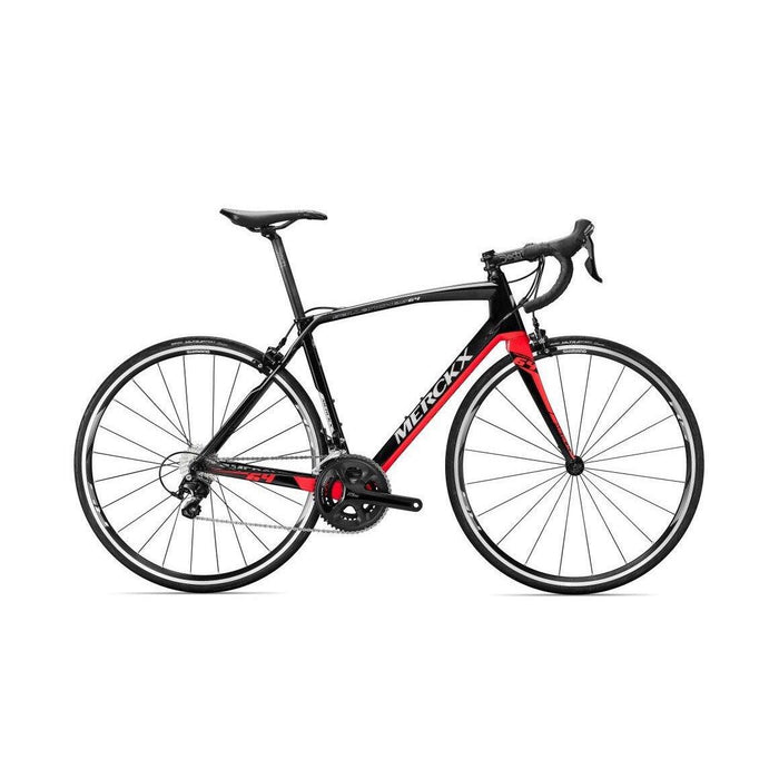 Eddy Merckx Sallanches 64 - Shimano 105 - Black Anthracite Red (Gloss)
