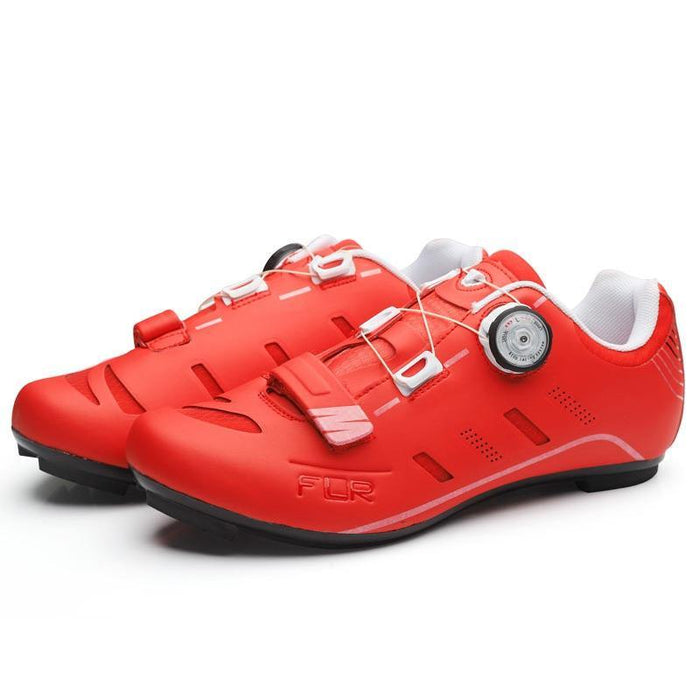 FLR F-22 II Road Shoes - Red