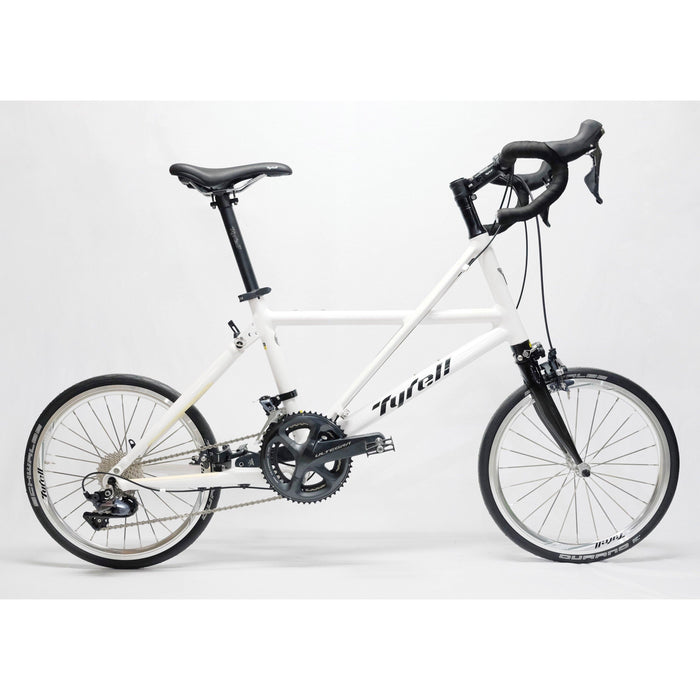 Tyrell FX Folding Bike (Drop Bar/Shimano Ultegra) - Pearl White