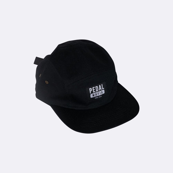 Pedal Mafia 5 Panel Cap - Black