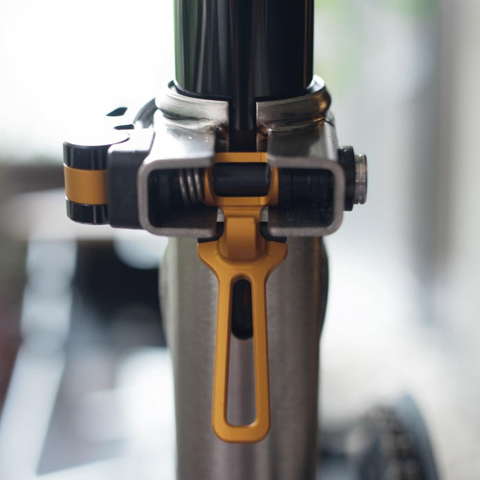 Imperium Cycle Brompton Seatpost Clamp Set - Gold