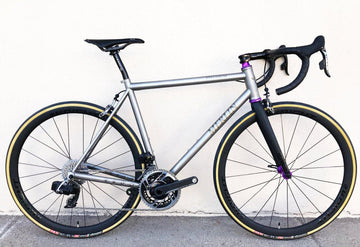 Merlin Extralight XLR All Road Titanium Frame - SpinWarriors