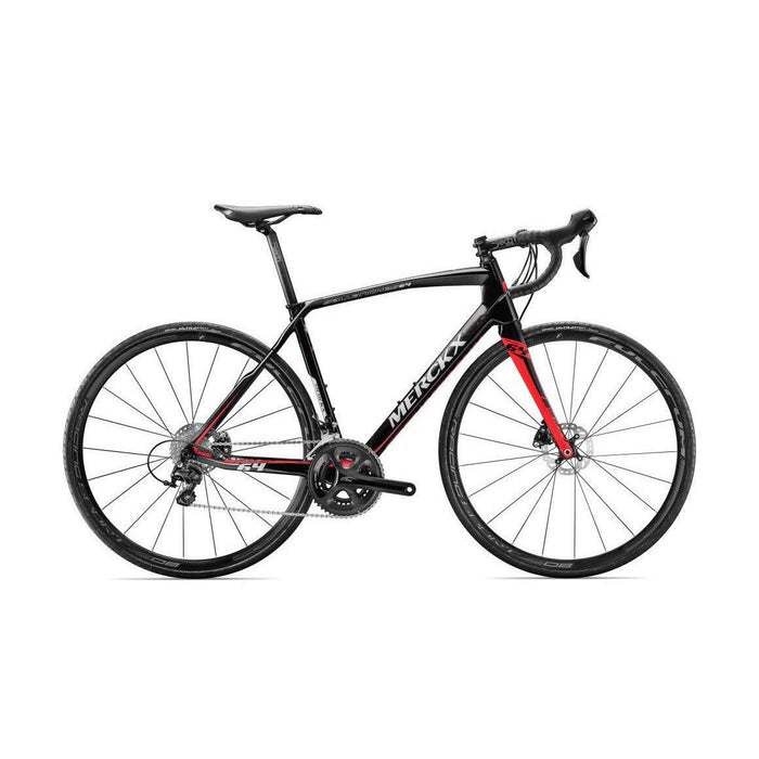 Eddy Merckx Sallanches 64 Disc - Shimano 105 - Black Anthracite Red (Gloss)