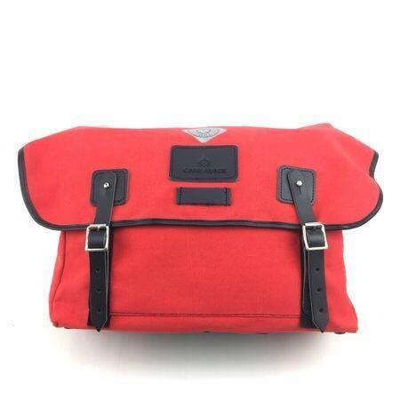 Carradice Brompton Stockport Folder Bag - Limited Edition Red