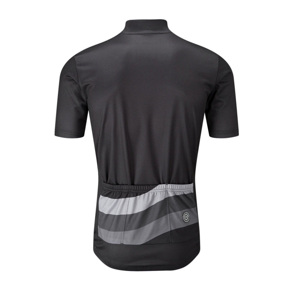 Chapeau! Tempo Wave Chest Stripe Jersey - Black