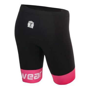 Bioracer Tri Short Women - Black/Pink - SpinWarriors