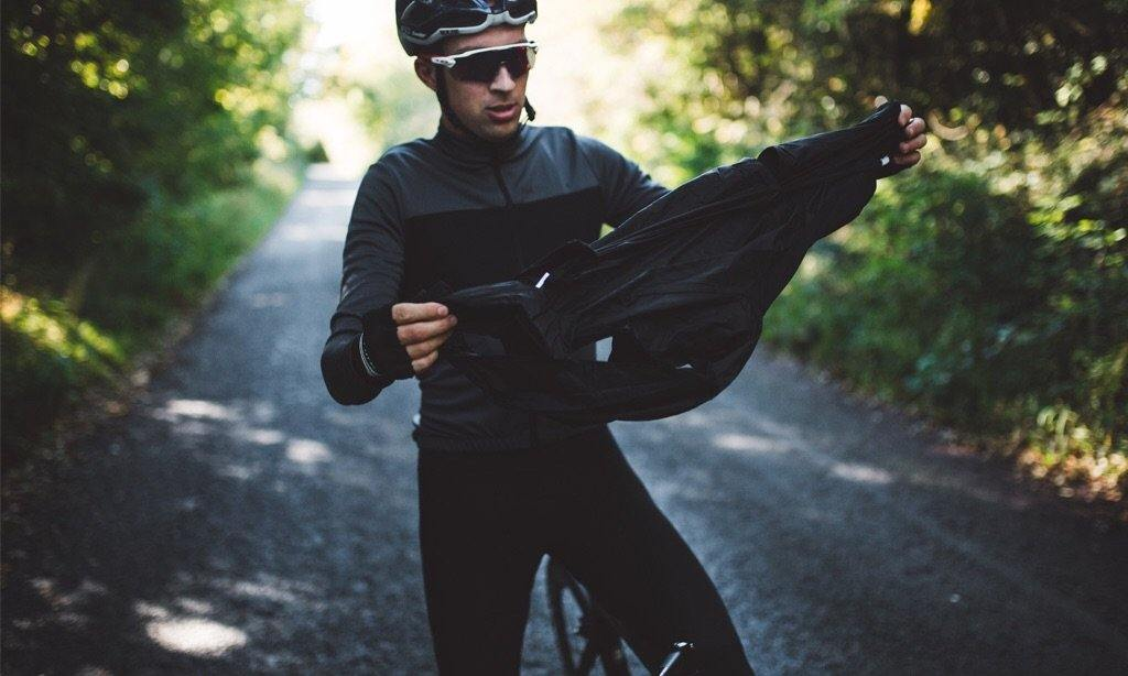 PeDAL ED Vesper Packable Jacket - Black