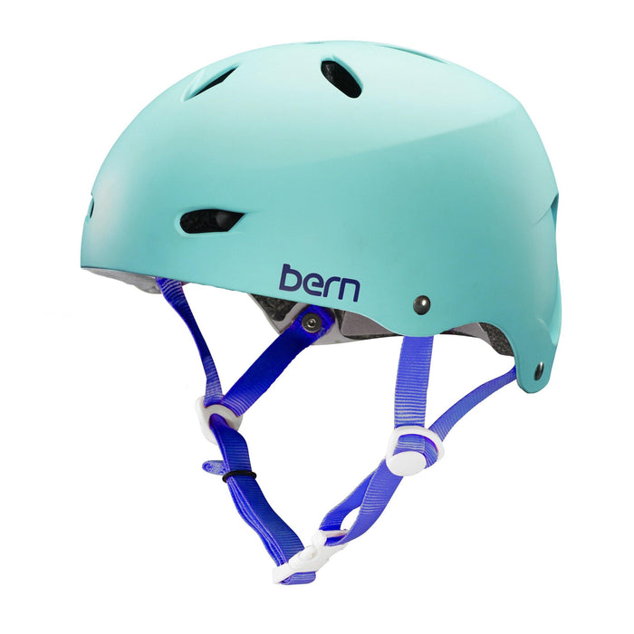 Bern Team Brighton Helmet - Satin Seafoam Green
