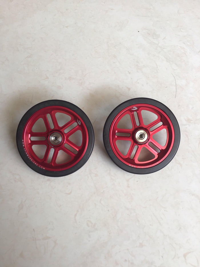 Pegasus Easy Wheel 55mm for Brompton Type R & Type E - Red