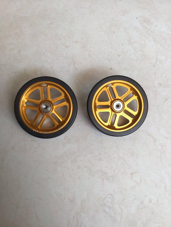 Pegasus Easy Wheel 55mm for Brompton Type R & Type E - Gold
