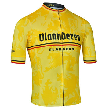 Milltag Flanders Belgian Yellow Jersey - SpinWarriors