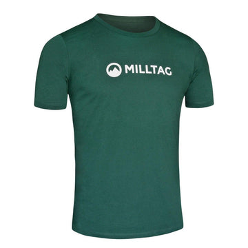 Milltag Bottle Green Classic T-Shirt - SpinWarriors