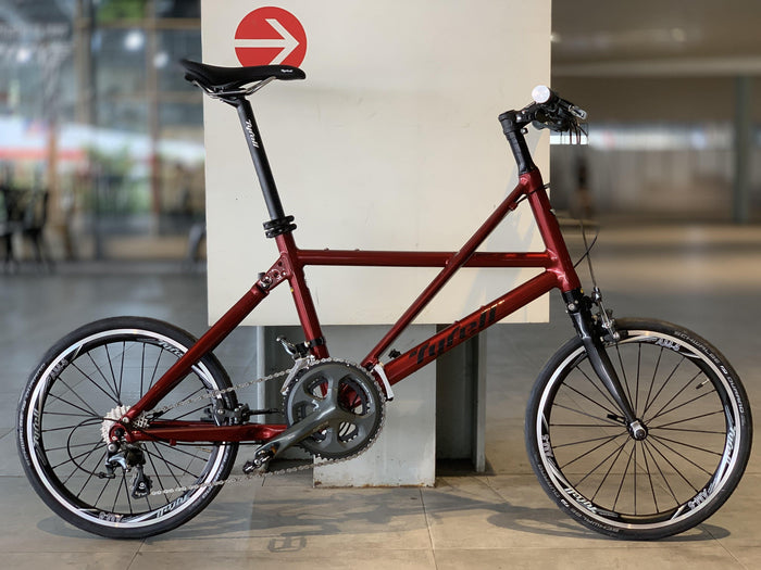 Tyrell FX Folding Bike (Flat Bar/Shimano 105) - Soul Red