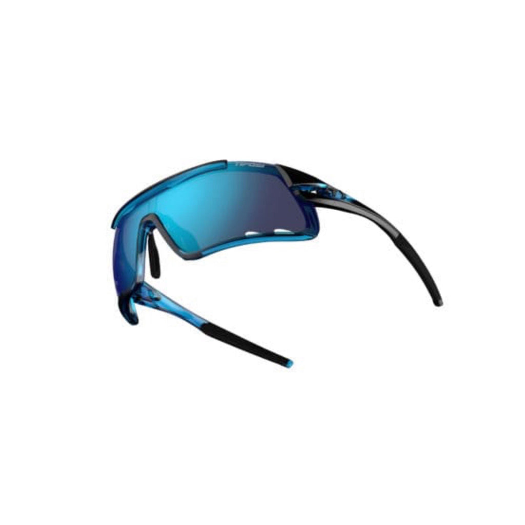 Tifosi Davos Crystal Blue Sunglasses - Clarion Blue, AC Red & Clear Lenses