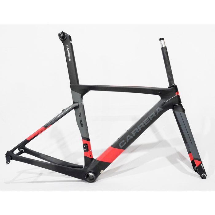 Carrera TD01 Air 2019 Frameset - Matte Black/Red