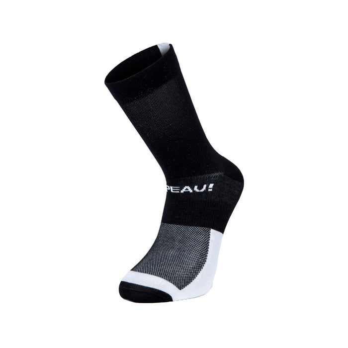 Chapeau! Lightweight Tall Club Sock - Black