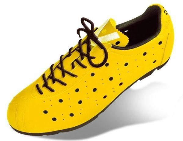 Vittoria 1976 Classic Road Shoes - Yellow