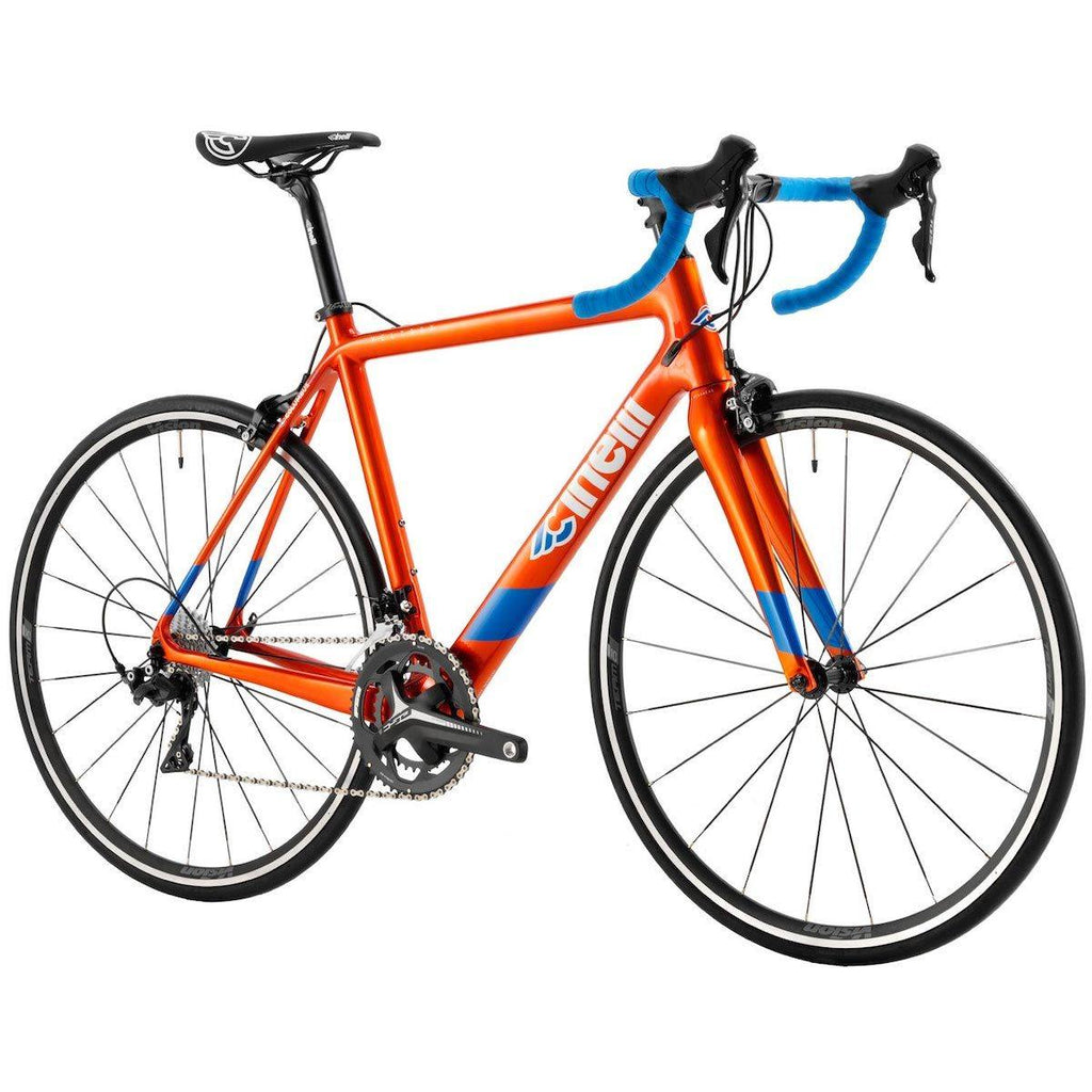 Cinelli Veltrix Road Bike with Shimano 105 - Orange