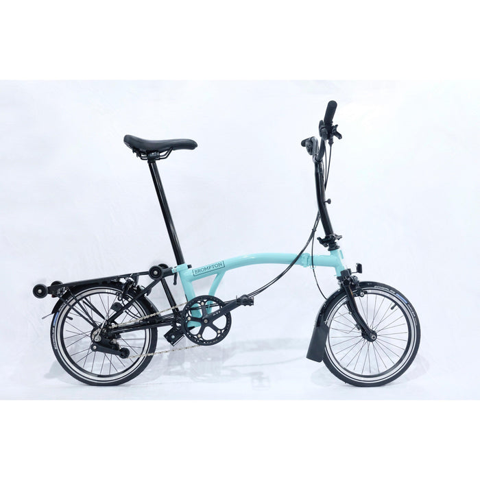 Brompton M6R 2019 Black Edition - Turkish Green Glossy