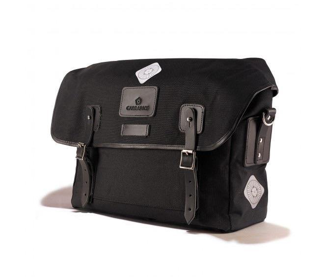 Carradice Brompton Stockport City Classic Folder Bag - Black