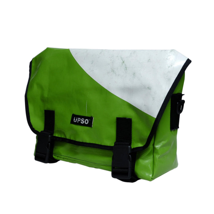 UPSO Brompton Ferrybridge Folder Bag - Green/White