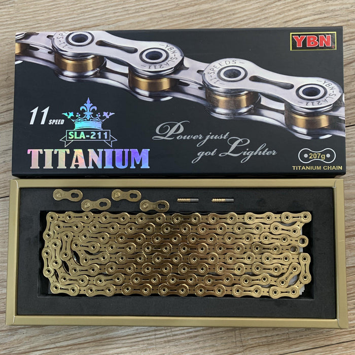 Yaban SLA211 Titanium Gold 11 Speed Chain