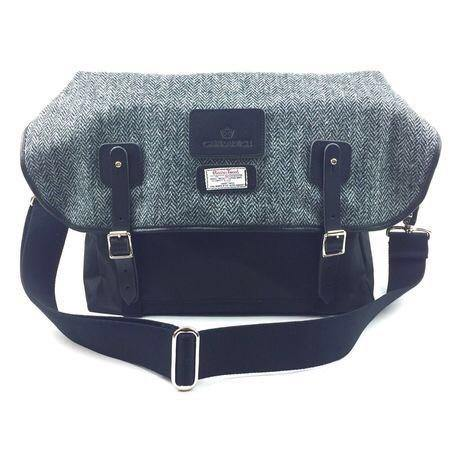 Carradice Brompton Stockport City Folder Bag - Harris Tweed Edition