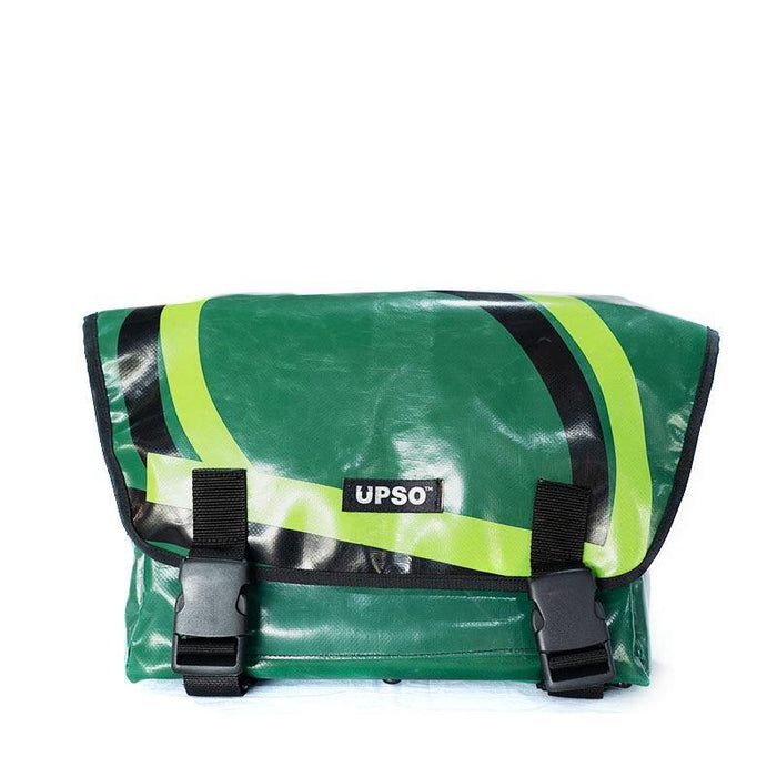 UPSO Brompton Ferrybridge Folder Bag - Dark Green/Lime Green