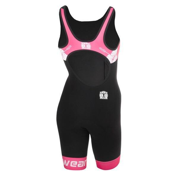 Bioracer Tri Suit Elite Bathing Women - Black/Pink