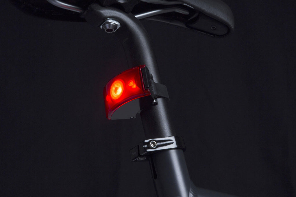 Bookman Curve Rear Light - Black