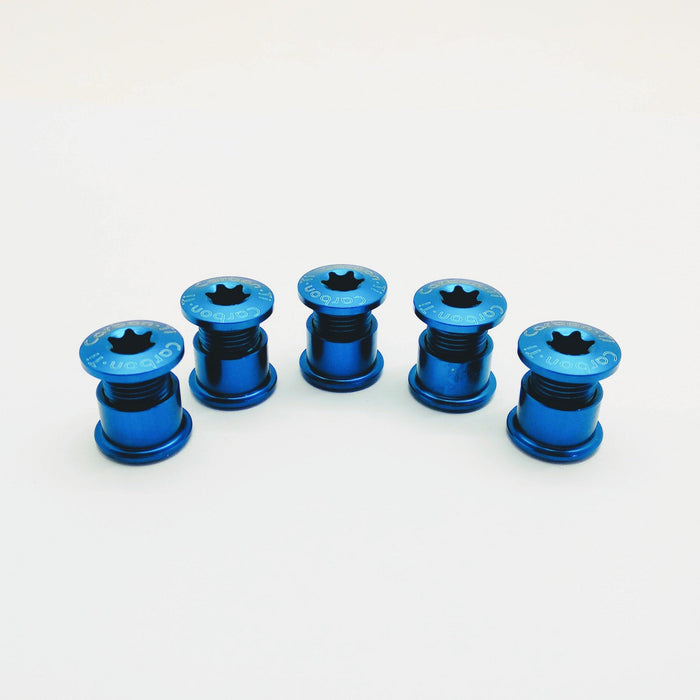 Carbon Ti X-Fix Road Kit - Blue
