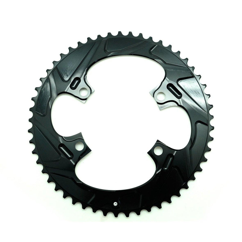 WickWerks Road Ultra Wide 53/34 Chain Ring - Shimano 4 Bolts/BCD110