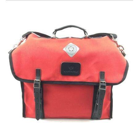 Carradice Brompton City Folder M Bag - Limited Edition Red