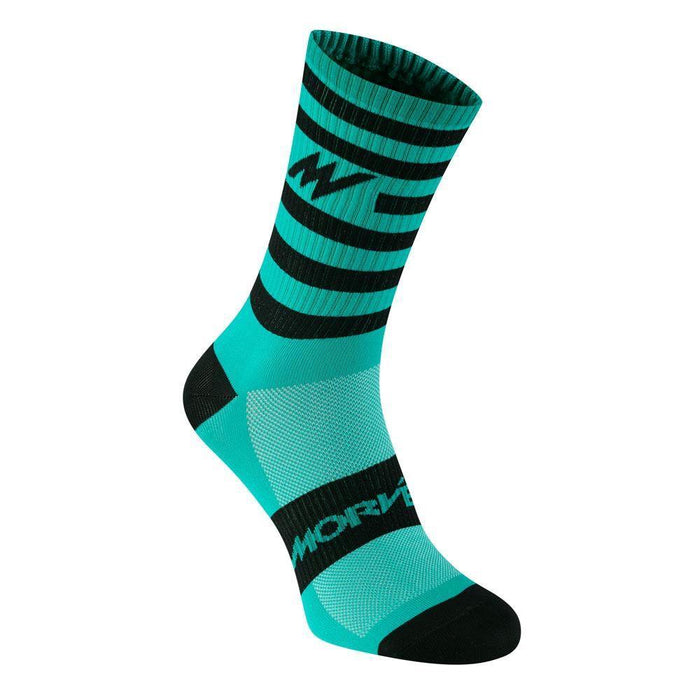 Morvelo Series Stripe Kelly Socks
