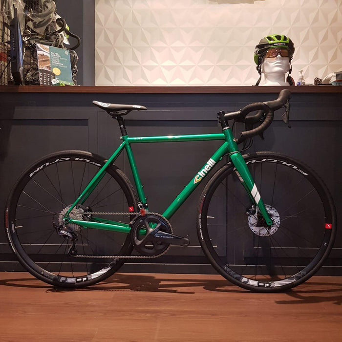 Cinelli Nemo Tig Road Disc Bike with Shimano Ultegra - Green