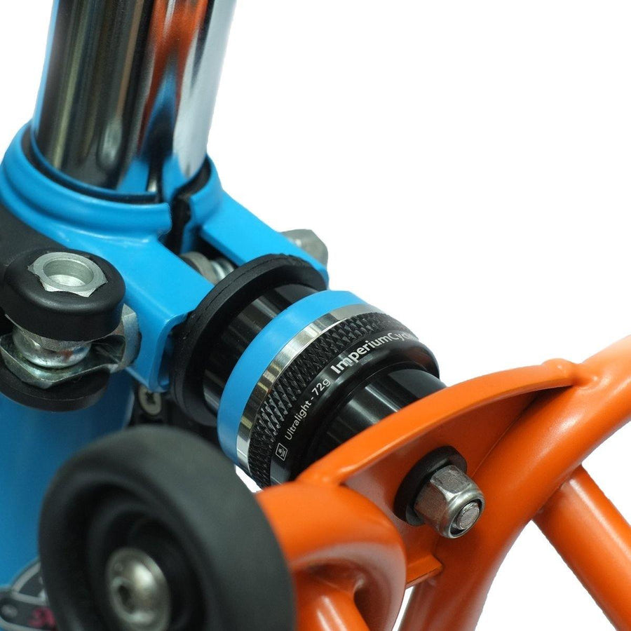 Imperium Cycle Brompton Multi-s Suspension - Lagoon Blue - SpinWarriors