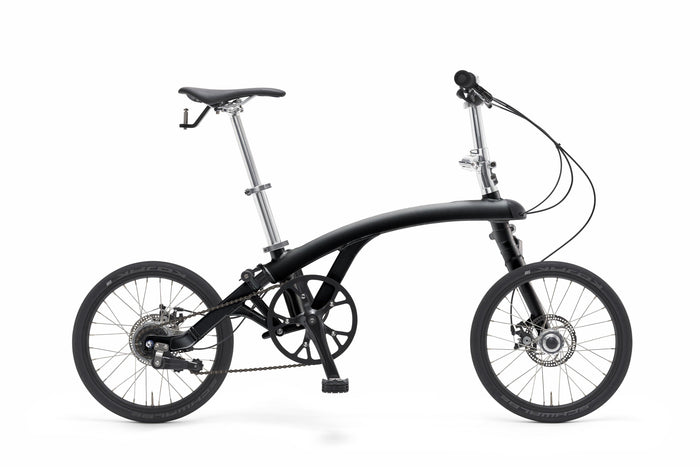 iruka Folding Bike - Black